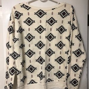 Crew Neck Sweatshirt Material Pullover